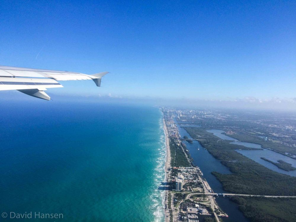 Flying out of Fort Lauderdale