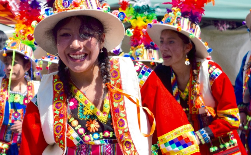 Two days of Dance – La Entrada Universitaria and the Day of the Campesino inSiripaca