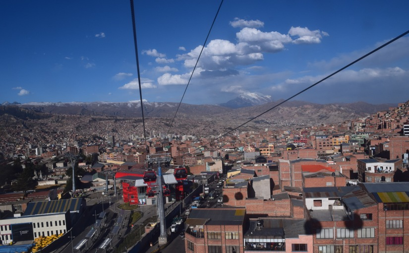 La Paz – Bolivia's bustling and chaoticcapital