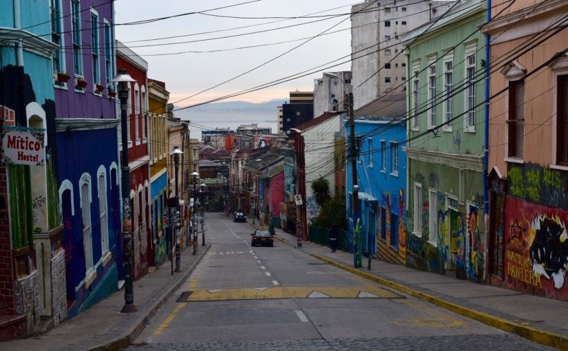 Valparaíso – Seafood, seaports, and street art
