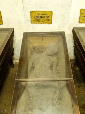 This woman was buried alive
