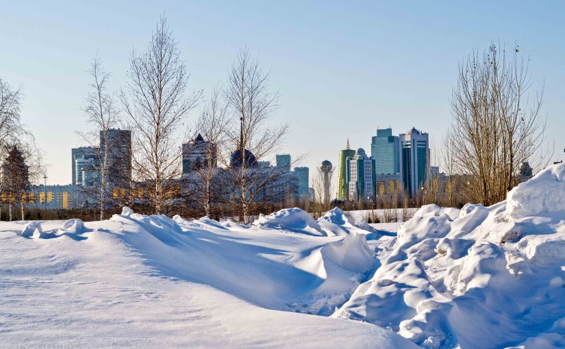 Winter Wandering inAstana