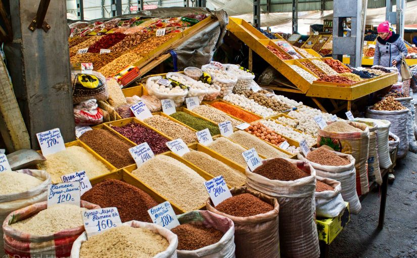Osh Bazaar – getting lost in a maze ofshops